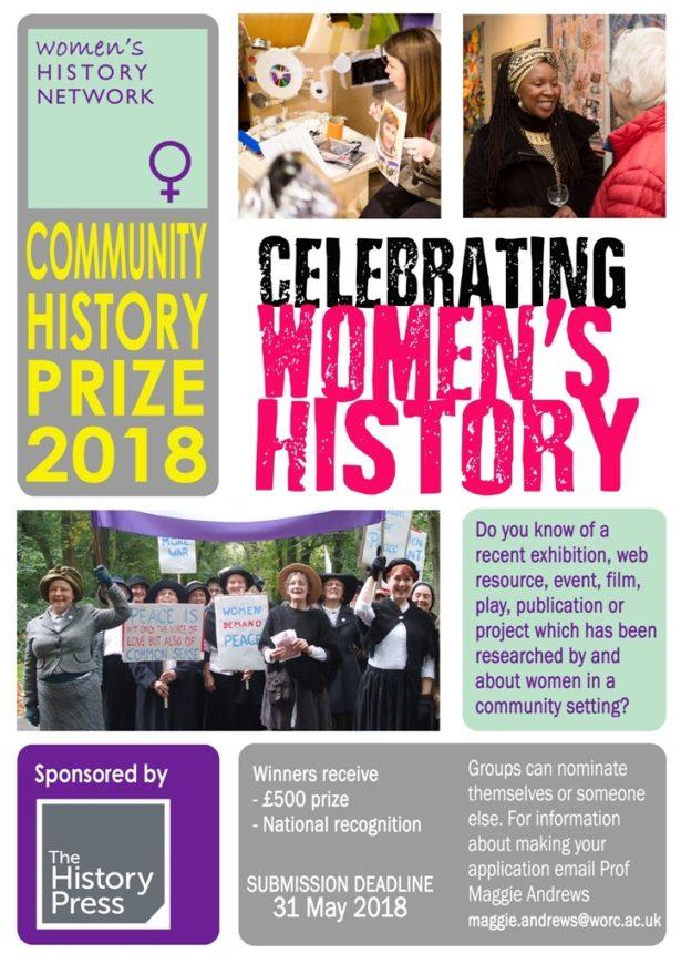 2018 WHN Community History poster