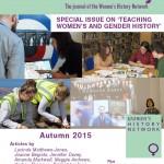 Women's History, Issue 3, Autumn 2015, print copy