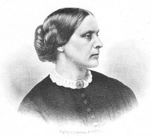Susan B. Anthony Photo supplied. Source: History of Women Suffrage, Vol. 1