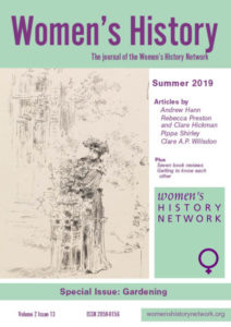 Women's History, Issue 13, Summer 2019