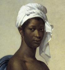 Portrait of a negress